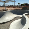 Craig Ranch Skatepark under construction - Pic by Ken Coombs