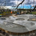 Johnson City Skatepark - Photo courtesy of Evergreen Skateparks