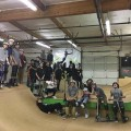 Indoor scooter park - Pacific Scooter Experience