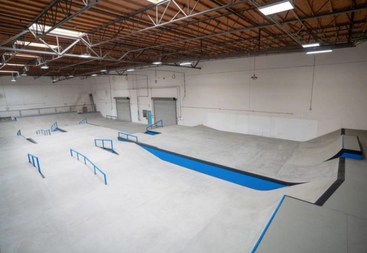Street Course Overview - Photo Courtesy of CA Skateparks