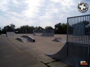 Gatesville Aquatics Center and Skatepark - Gatesville, Texas, U.S.A.