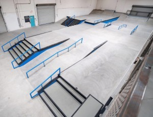 Street Course Overview 2 - Photo Courtesy of CA Skateparks