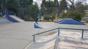 boys and girls club Skatepark- Oakhurst, California, U.S.A.