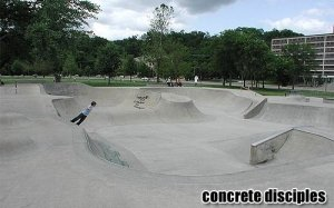 Iowa City Skatepark - Iowa City, Iowa, U.S.A.