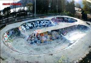 Skatepark Annecy - Annecy, France