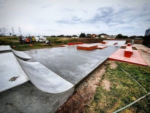 Gowanbrae Skatepark - photo courtesy of Grindprojects
