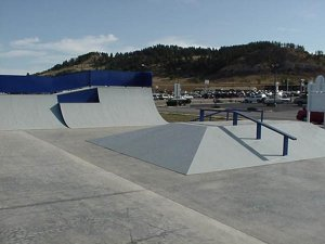 Spearfish Skatepark - Spearfish, South Dakota, USA