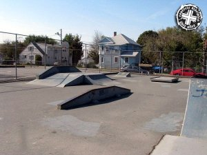Abbott Court Skatepark - Fall River, Massachusettes, U.S.A.