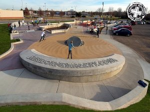 St Cloud Skate Plaza  - St Cloud, Minnesota, U.S.A.