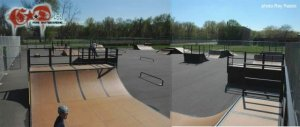 Academy Skate Park - Glastonbury, Connecticut, U.S.A.