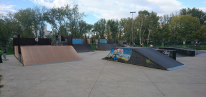 Skatepark Novi Sad, Photo: Andrej