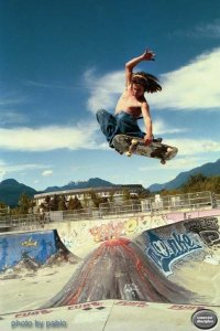 Hastings Skateboard Park  or PNE - Vancouver, British Colombia, Canada