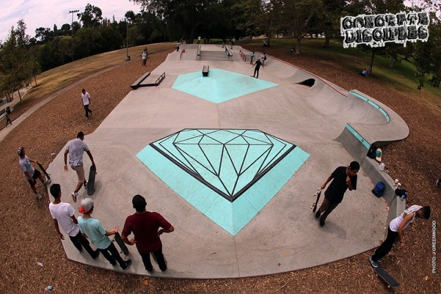 Diamond Supply Co. Skate Plaza - Los Angeles