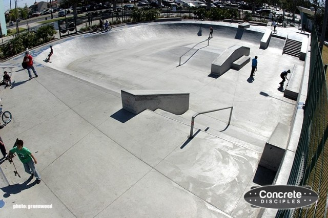 Alondra Skate Park - Lawndale, California, USA
