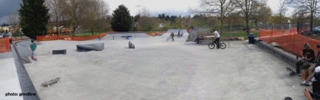 Roxhill Park Skatepark - Seattle Washington, USA