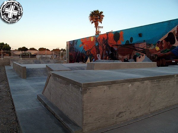 Skatepark - Watts, California, U.S.A.