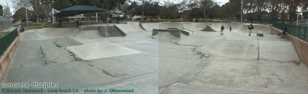 El Dorado Skatepark - Long Beach, California, U.S.A.