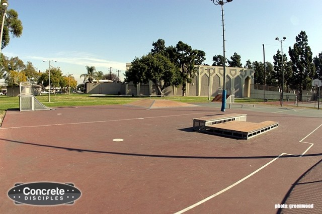Silverado Skatepark - Long Beach, California, USA