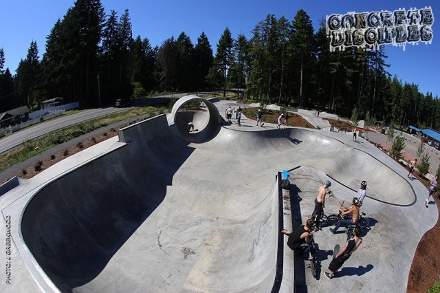 South Kitsap SkatePark - Port Orchard WA.