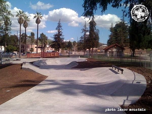 Lincoln Skatepark - Los Angeles, California, U.S.A.