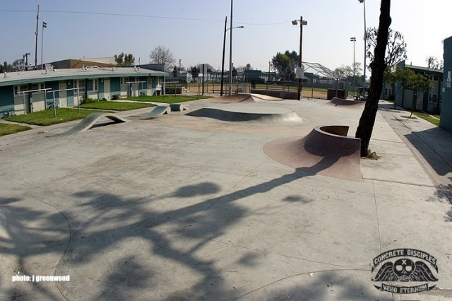 Imperial Courts Skate Park - Los Angeles, California, USA