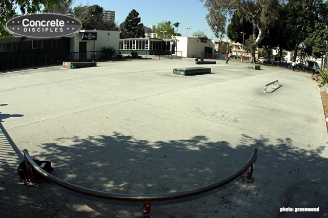 Bixby Park Skatepark - Long Beach, California, USA