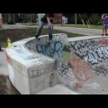Joel Ketch At Bracebridge Skatepark