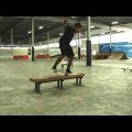 Bloomington Indiana Warehouse And Forrest Park. YeahDude Skateboarding