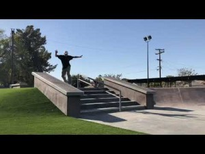 Dylan Williams at Beardsley Skatepark, Bakersfield CA
