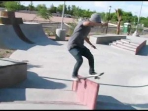 first montage from the chandler christian church skatepark