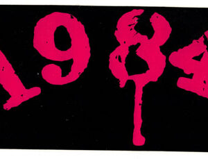 1984 Large Sticker