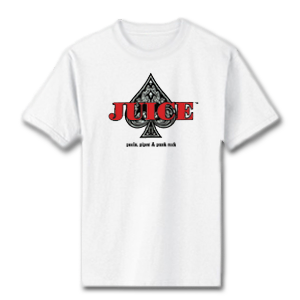 JUICE - Ace of Spades - T-Shirt – White