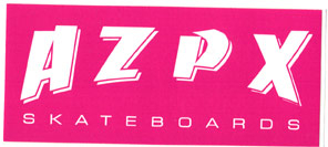 AZPX Skateboards Sticker