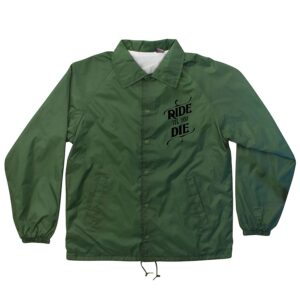 Creature - Ride Til You Die Coach Windbreaker Green