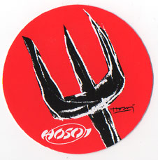 Hosoi Pitchfork Sticker