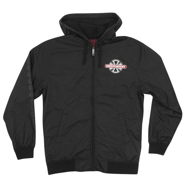 Independent Condition Hooded Windbreaker - Black