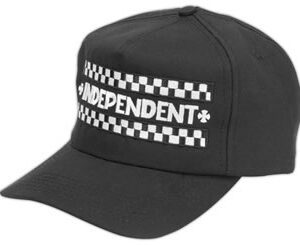 Independent - Finish Line Black Twill Hat