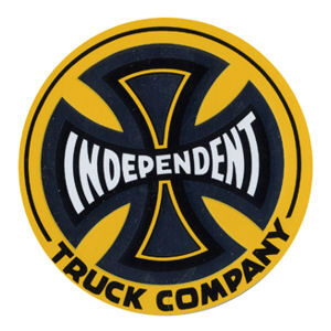 Independent 3 inch Foil Sticker Yellow