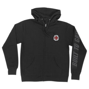 Independent BTG Patch Hooded Zip - Black