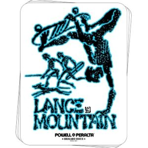 Bones Brigade Lance Mountain Future Primitive Sticker, Powell Peralta