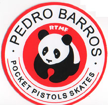 Pocket Pistols Pedro Barros Sticker