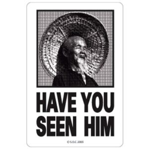 Powell Peralta Have You Seen Him? Animal Chin Sticker