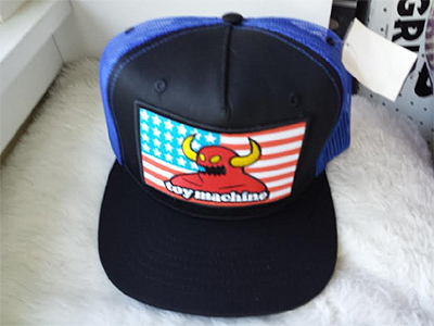 Toy Machine American Monster Patch Mesh Hat