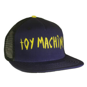 Toy Machine - Text with Eye under the bill. Mesh Hat.