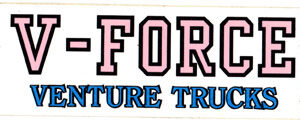 Venture Trucks V-Force 4.25 inch Sticker