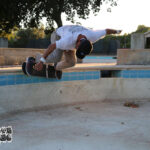Bart Saric backside shred in the baby pool