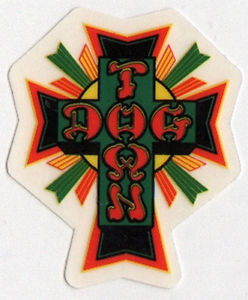 Dogtown Skateboards Old School Skateboard Sticker