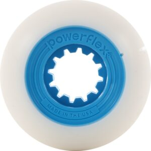 Powerflex Gumball™ Core wheels are perfect for street skating, skateparks, backyard pools and DIY spots.