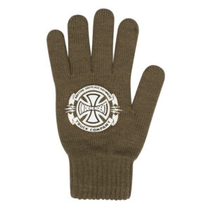 Independent - Anytime Knit Gloves - Army Green