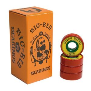 Sk8 Mafia Bearings Big Red Rasta Abec 7
